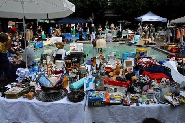 Die Stadt Lörrach spart an den Märkten