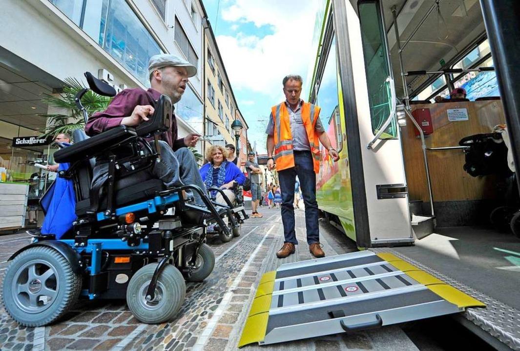 Mobiliät ist nur eins der Themen, die ...ehinderungen wichtig ist (Archivbild).  | Foto: Michael Bamberger