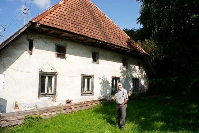 Das Zechenwihler Hotzenhaus soll zum Tag des offenen Denkmals im Herbst 2020 fertig sein