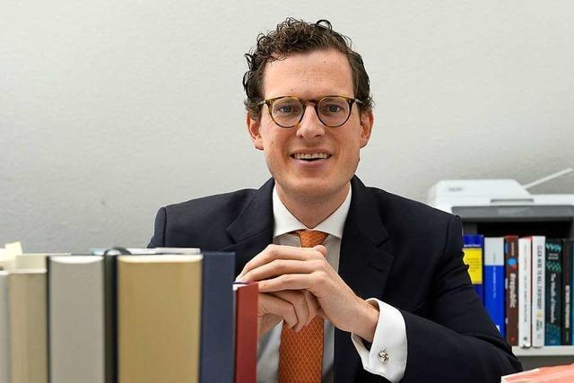 Jurist erhält Preis der Wissenschaftlichen Gesellschaft Freiburg