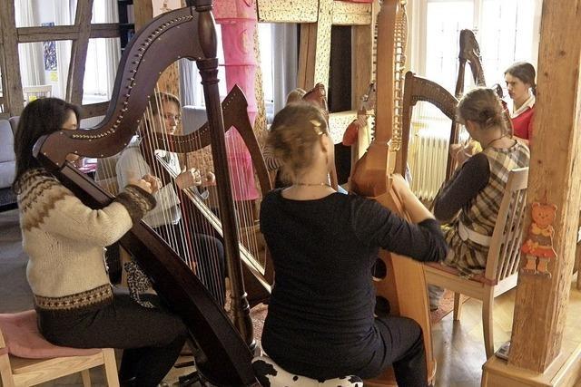 Harfenmusik im Kurhaus