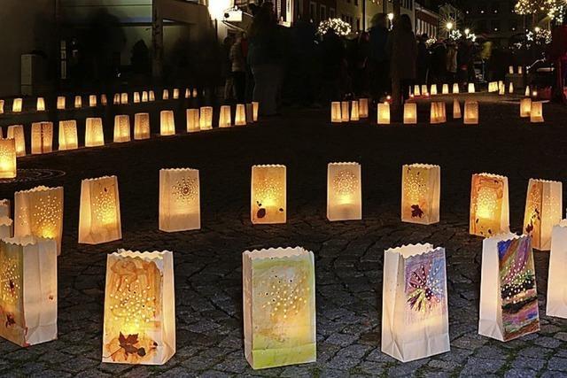 Lichterfest in Schönau