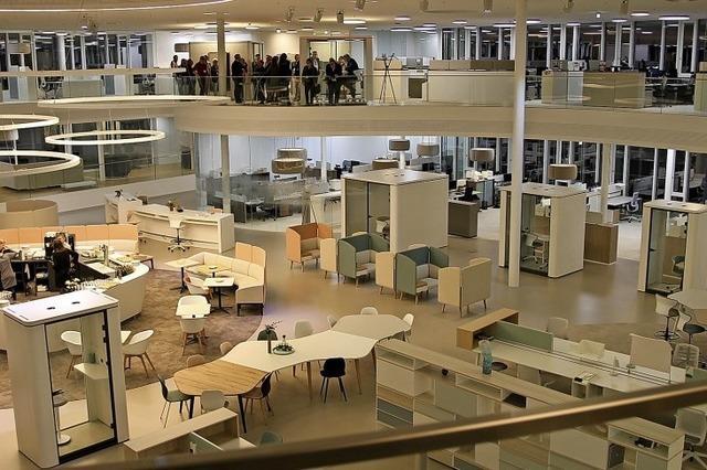 Das Großraumbüro der Zukunft ist ein Testlabor