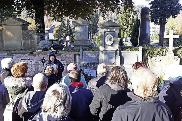 Lebendige Friedhofsführung