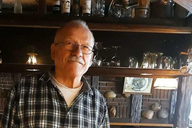 Abschied vom Alten Simpl: Staufener Kult-Wirt Edgar Schröder hört nach 42 Jahren auf