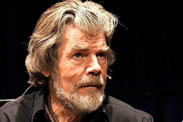 Reinhold Messner berichtet in Lörrach von der Faszination der Berge