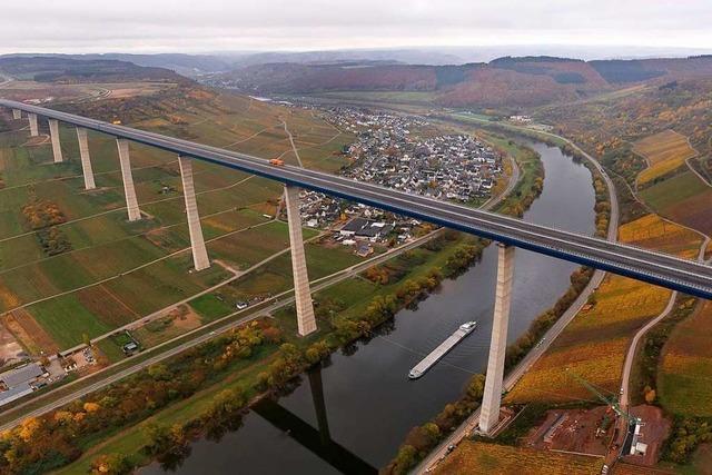 Die zweithöchste Brücke Deutschlands ist nach acht Jahren fertig