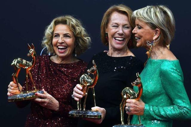 Starke Frauen und eine TV-Legende bei der Bambi-Gala