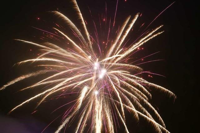 Die Stadt Lahr denkt über Alternativen zum Chrysanthema-Feuerwerk nach
