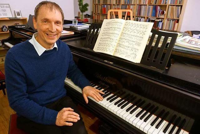 Michael Donkel saß schon als Kind 8 Stunden am Klavier