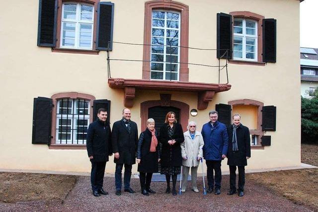 Land unterstützt Denkmalschutz auf Buchholzer Schlossgelände