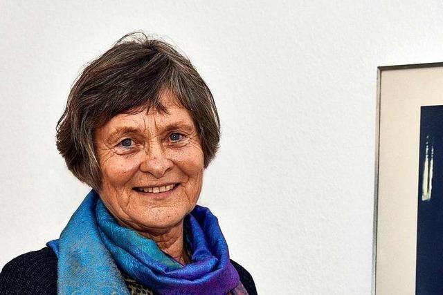 Heidi Mönnich-Marks aus Freiburg ist engagiert in Kunst und Politik