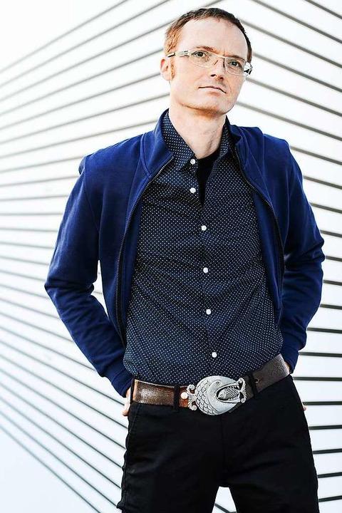 Bertram Denzel: Der Musiker, DJ und Fi...d Sohn von Hedy Denzel lebt in Berlin.    Foto: Manuel Miethe