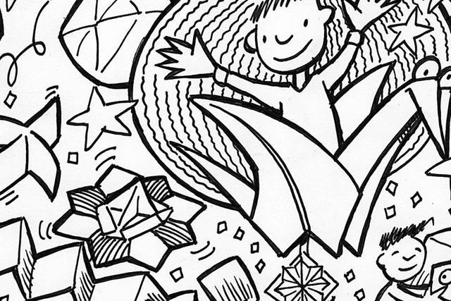 Im Rieselfeld findet ein Fest rund um die Kunst des Papierfaltens statt