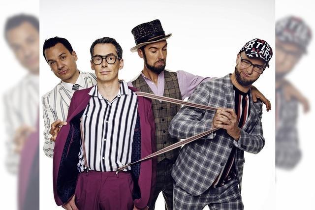 A-capella-Quartett Maybebop gastiert im Gloria-Theater in Bad Säckingen
