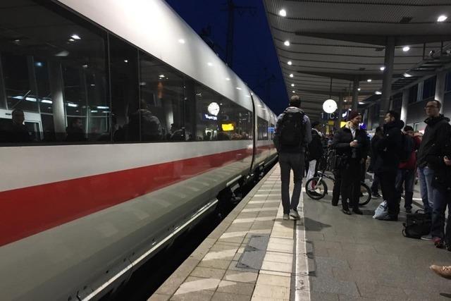 Züge fahren Hauptbahnhof Freiburg nach Oberleitungsschaden wieder an