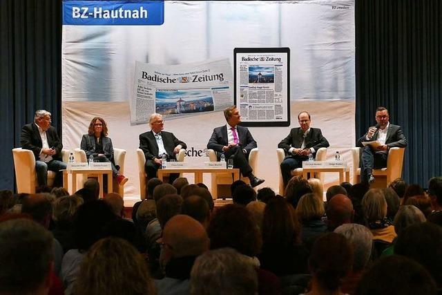 Wie war's beim... BZ-Talk mit den Schliengener Bürgermeisterkandidaten?
