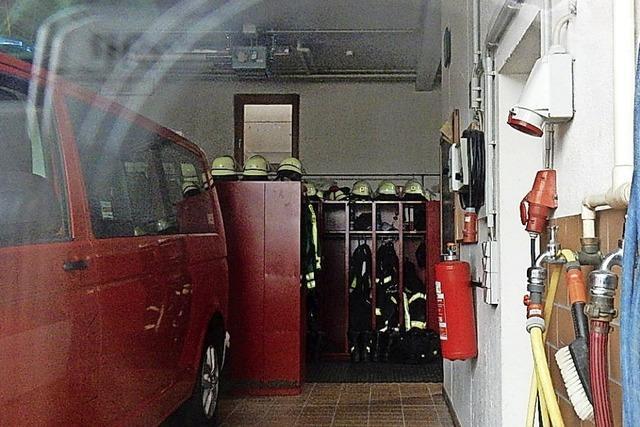 Die Sanierung des Feuerwehrgerätehauses wird teurer