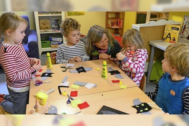 Freiburger Kita Immergrün mit dem bundesweiten Gütesiegel Buchkindergarten ausgezeichnet