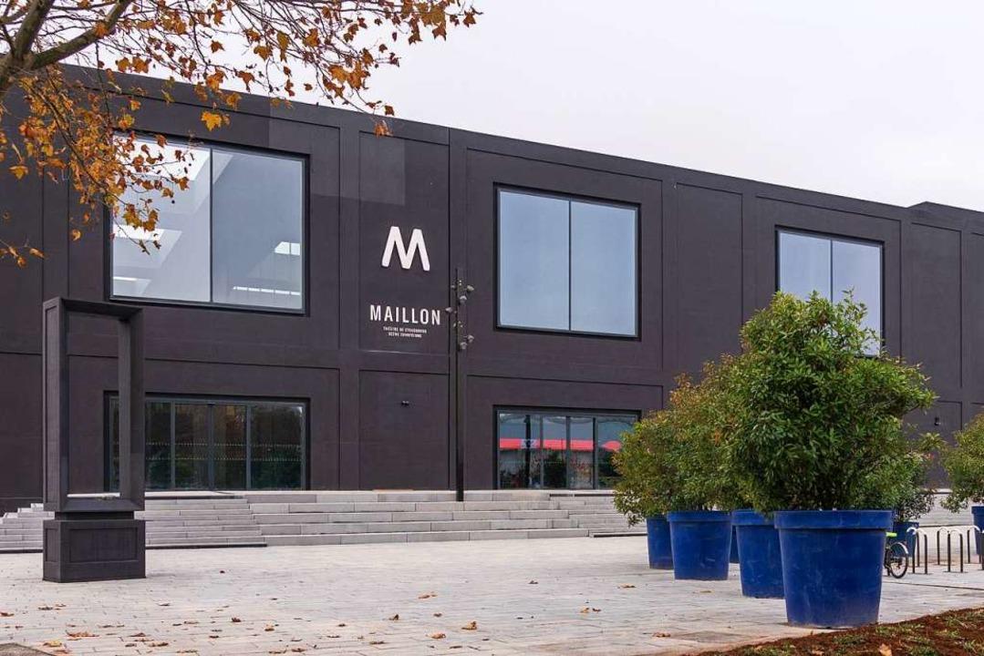 Schlichtheit und Transparenz: das neue Le Maillon von außen    Foto: Jerome Dorkel
