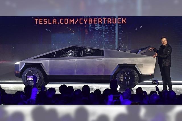 Futuristisch – aber nicht bruchfest