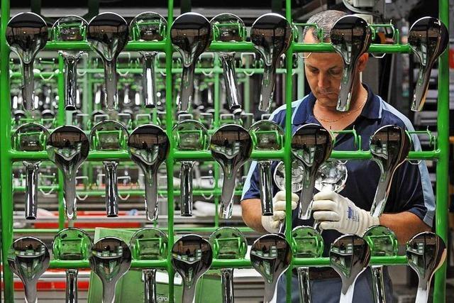 Hansgrohe produziert in Offenburg mit neuer Galvanik doppelt so viel wie bislang
