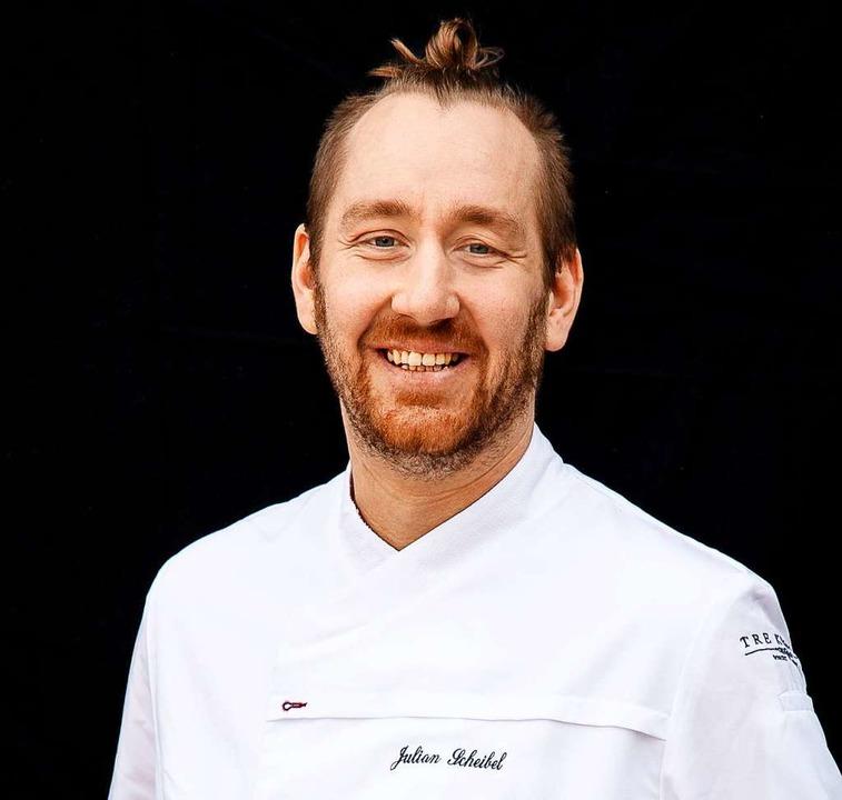 Küchenchef Julian Scheibel    Foto: Michael Wissing