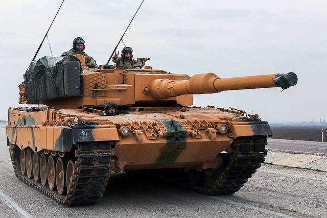 Deutsche Panzer in der Hand syrischer Rebellen?