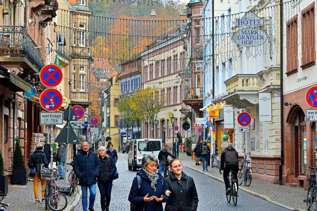 Flanierstraße mit schönem Flair und viel Fluktuation: die Gerberau  | Foto: Michael Bamberger