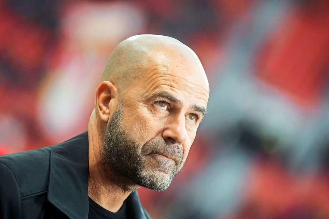 Peter Bosz, Trainer von Bayer Leverkusen  | Foto: Rolf Vennenbernd (dpa)
