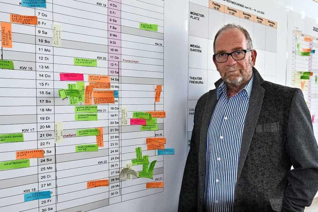 Leiter des Jubiläums: Holger Thiemann  | Foto: Michael Bamberger