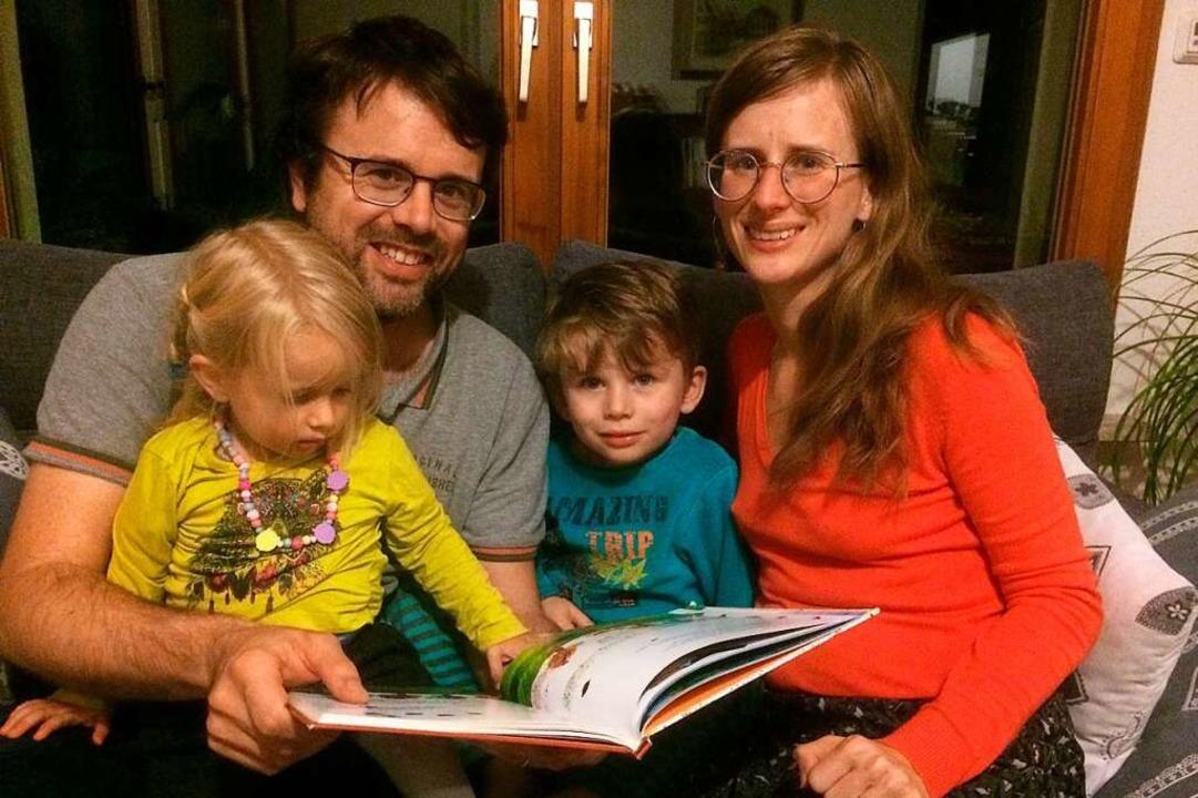 Familie Meyer in Rosenau    Foto: Annemarie Rösch