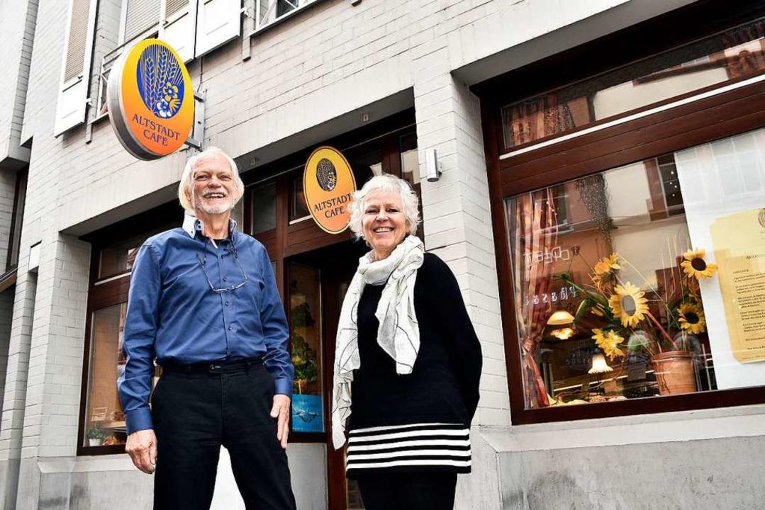 Eberhard und Nina Schwippert    Foto: Thomas Kunz