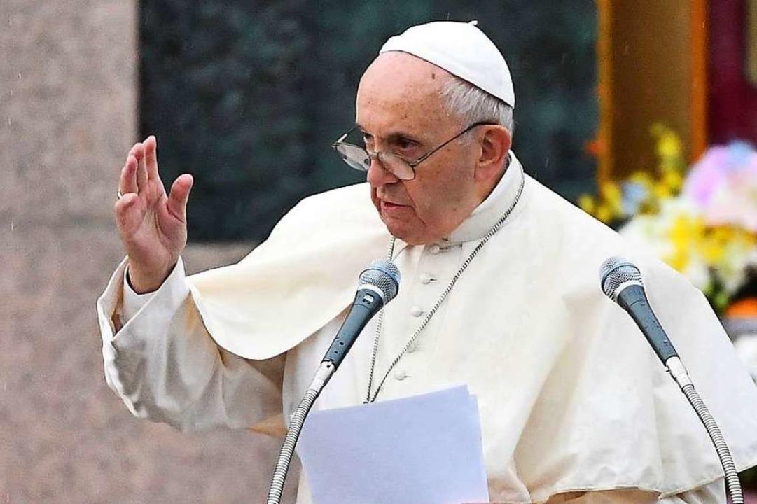 Papst Franziscus