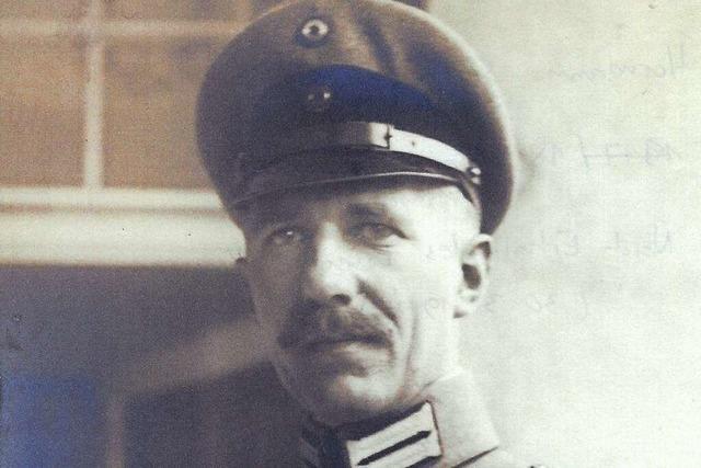 Das Kriegstagebuch eines Freiburger Gymnasiallehrer aus dem Ersten Weltkrieg