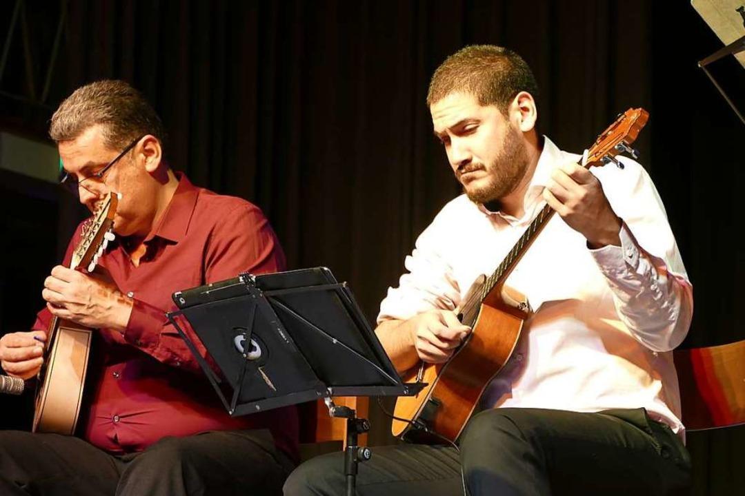 Ricardo Sandoval und Leo Rondon  | Foto: Sylvia Sredniawa