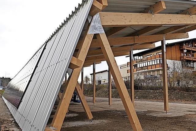 Solargarage wird eingeweiht
