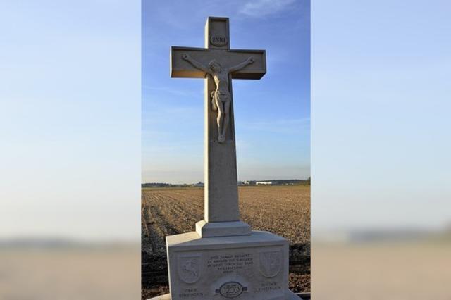 Symbol für christliche Wurzeln der Orte
