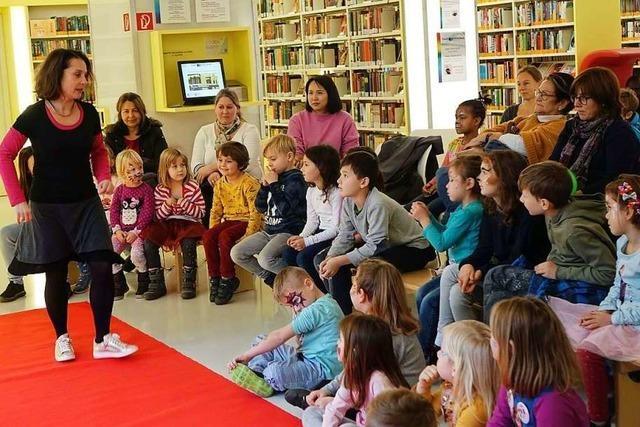 Geschichten erleben in der Stadtbibliothek Rheinfelden
