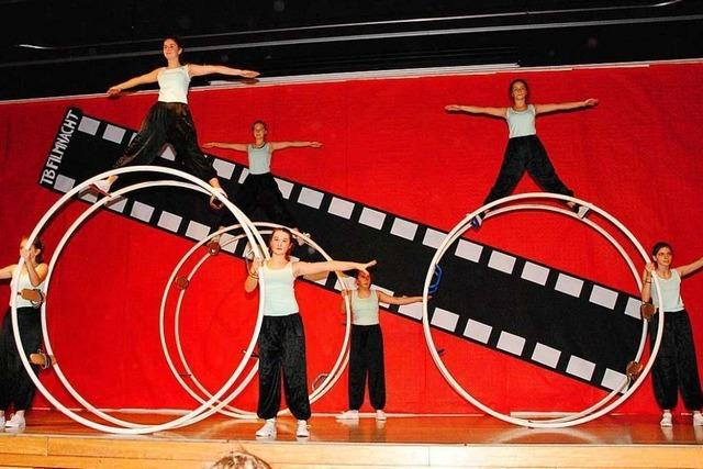 Turnerbund Binzen verbindet den Sport zur Jahresfeier mit Filmmusik