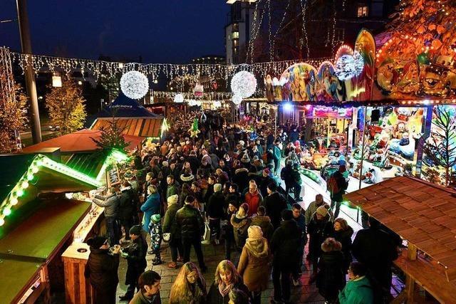 Erweiterung soll Freiburgs Weihnachtsmarkt sicherer und komfortabler machen