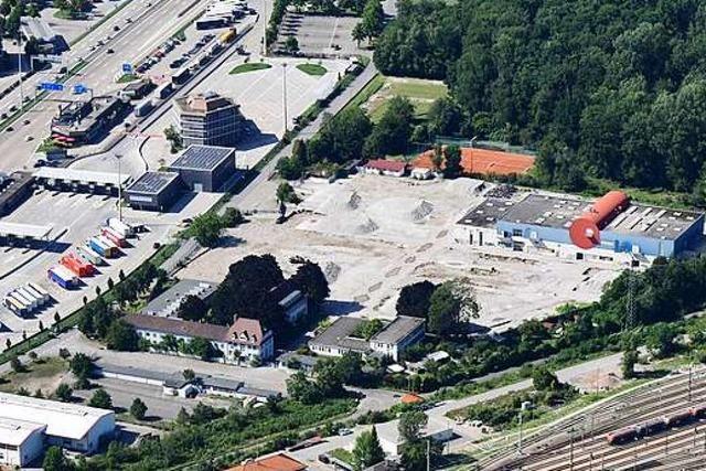 Nur noch wenig erinnert an die Weltunternehmen in Weil am Rhein
