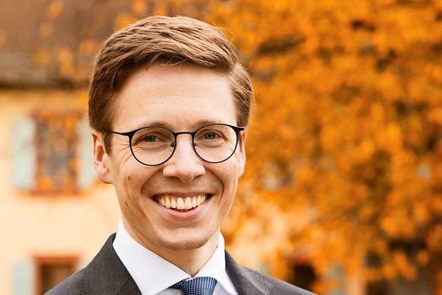 Patrick Thoma tritt in Heitersheim zur Bürgermeisterwahl an