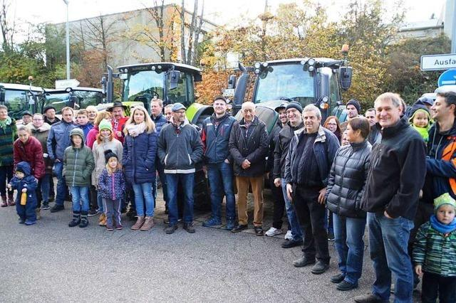 Organisator ist von Beteiligung bei der Landwirte-Kundgebung enttäuscht