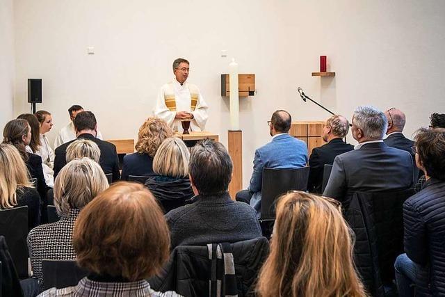 Neue Kapelle in Vörstetten eingeweiht