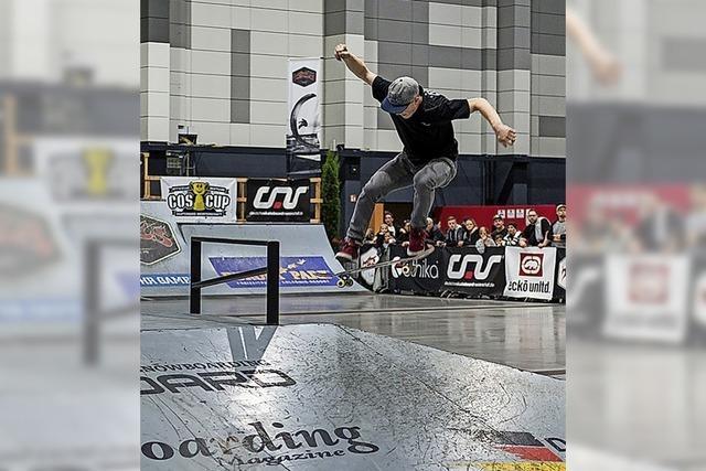 Die deutsche Skateboardmeisterschaft wird in der Europa-Park Arena ausgetragen