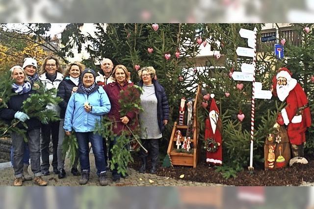 Märchenhafte Weihnachtsdekoration