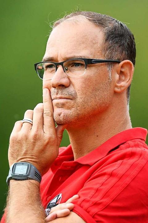 Stegens Coach Stefan Schwär  | Foto: Patrick Seeger