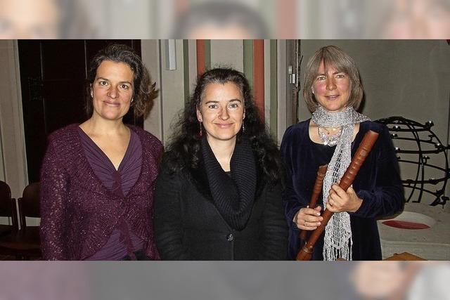Frühe Musik zur Einstimmung auf den Advent in der Pfarrkirche St.Gallus