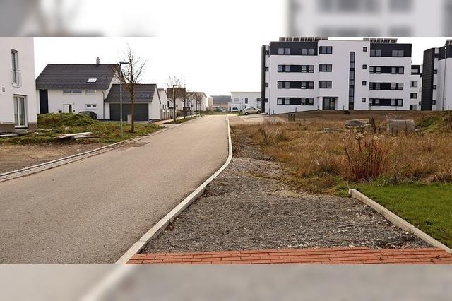 Das unvollendete Neubaugebiet